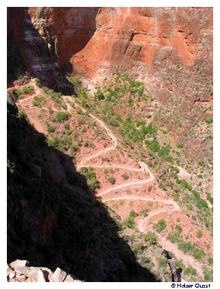Bright Angel Trail Serpentin