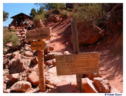 3 Meilen Resthouse Bright Angel Trail