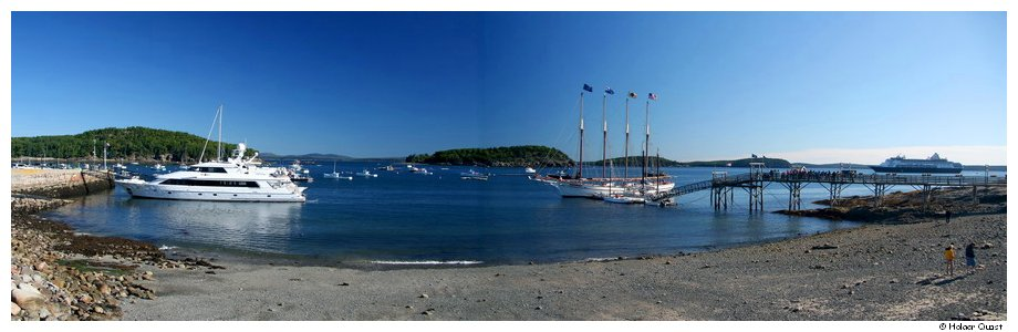 Bar Harbor Panorama