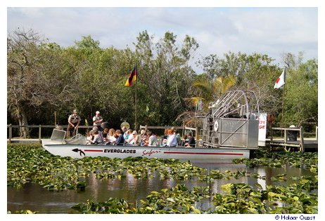 Airboattour am Tamiami Trail