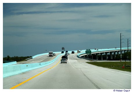 Overseas Highway nach Key West