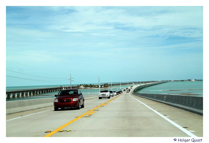 Seven Mile Birdge - Overseas Highway nach Key West
