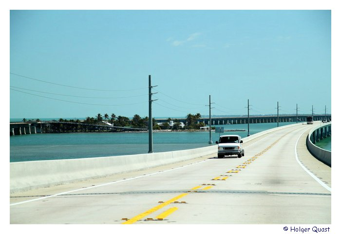 Seven Mile Birdge - U.S. Highways 1 nach Key West