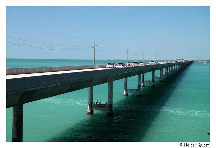 Seven Mile Bridge Florida Keys - U.S. Highways 1