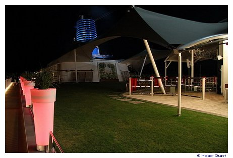 Lawn Club by night