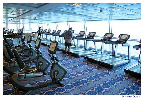 Fitness Studio der Celebrity Equinox