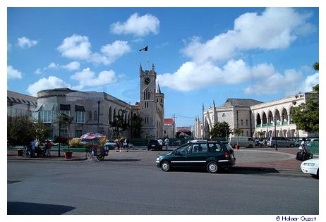 National Heroes Square - Bridgetown - Barbados