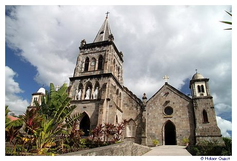 Cathedral Our Lady of Fair Haven - Roseau - Dominica