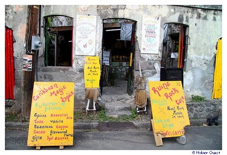 Ruins Rock Cafe - Roseau - Dominica