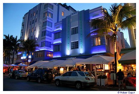 Art Deco am Ocean Drive - Miami Beach