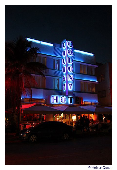 Colony Hotel - Ocean Drive - Miami beach