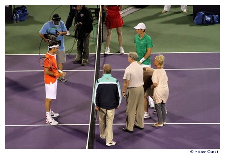 Night Session: Roger Federer – Tomas Berdych