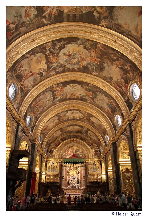 St. John's Co-Cathedral - Valetta - Malta