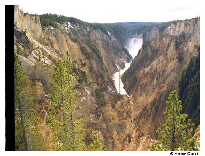 Grand Canyon of the Yellowstone - Inspiration Point