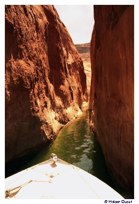 Lake Powell  Seitencanyon