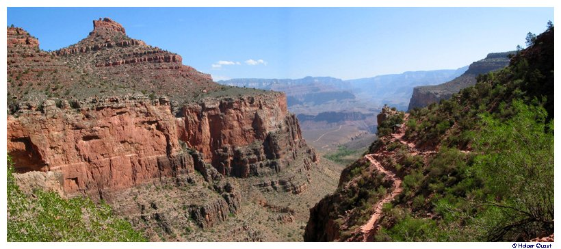 Bright Angel Trail Panorama