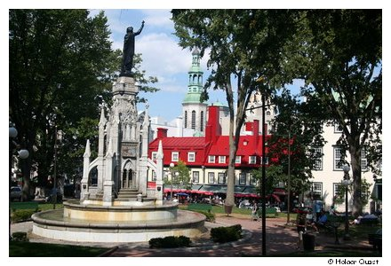 Place d'Armes - Quebey City