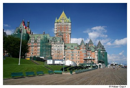 Hotel Chateau Frontenac - Quebec City