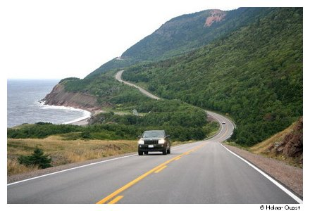 Landschaft im Cape Breton National Park