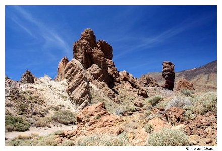 Los Roques - Teide National Park
