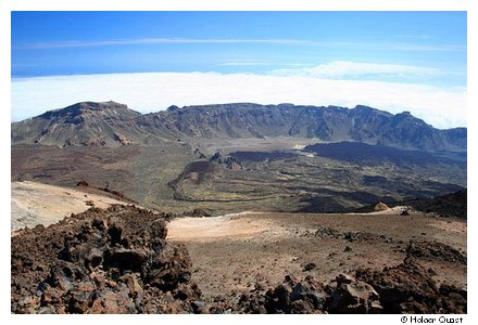 Caldera - Teide Nationalpark