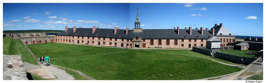 Panorama Palast Fortress of Louisbourg