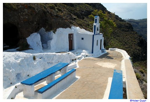 Agios Antonios - Wedding location Satorini