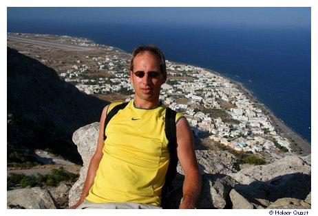 Holger in Alt-Thira