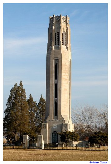 Nancy Brown Peace Carillon Tower auf Belle Isle in Detroit