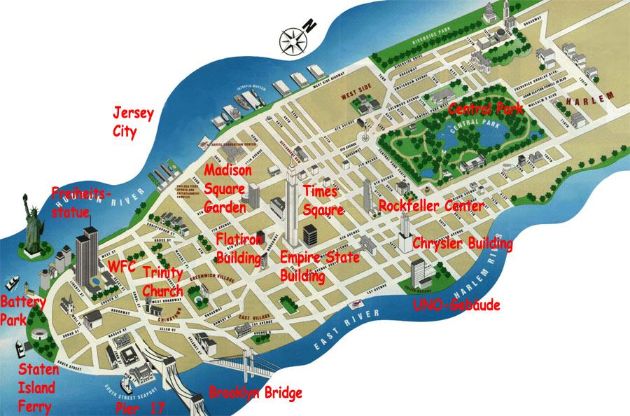 new york map manhattan. new york city map manhattan.