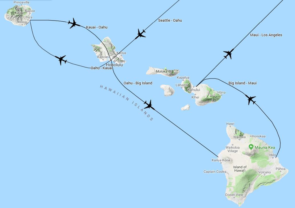 Hawaii Reisebericht, Hawaii Rundreise Oahu, Kauai, Big ...