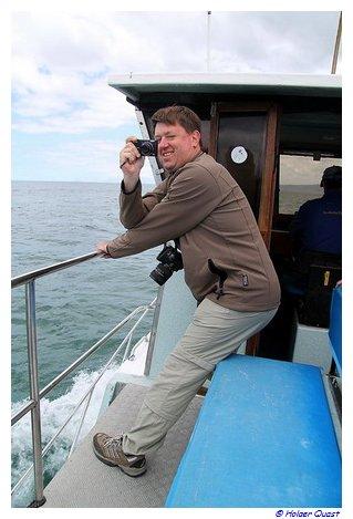 Peter käpft mit dem Foto...